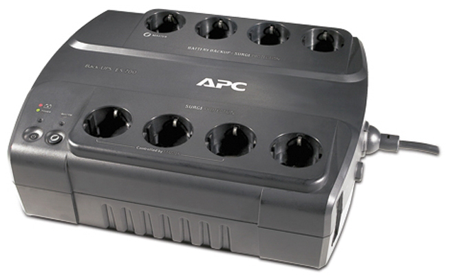 Источник бесперебойного питания APC by Schneider Electric Power-Saving Back-UPS ES 8 Outlet 700VA 230V CEE 7/7