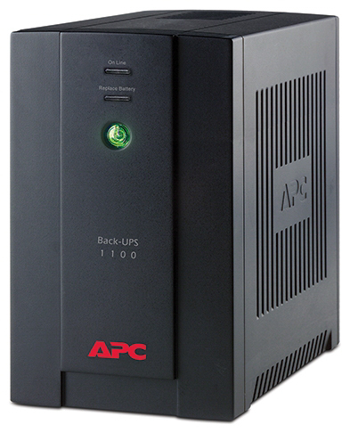 Источник бесперебойного питания APC by Schneider Electric Back-UPS 1100VA with AVRSchuko Outlets for Russia230V